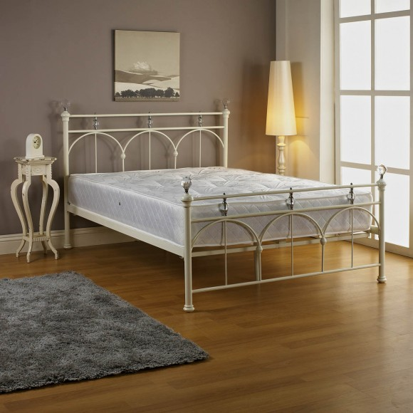 Jemima Bed - White
